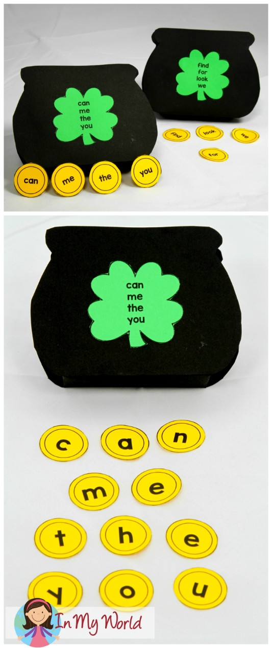 FREE St. Patrick's Day Worksheets and Activities for Kindergarten