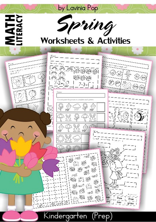 Spring Worksheets and Activities for Kindergarten
