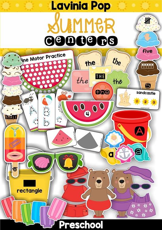 FREE Preschool Summer Centers