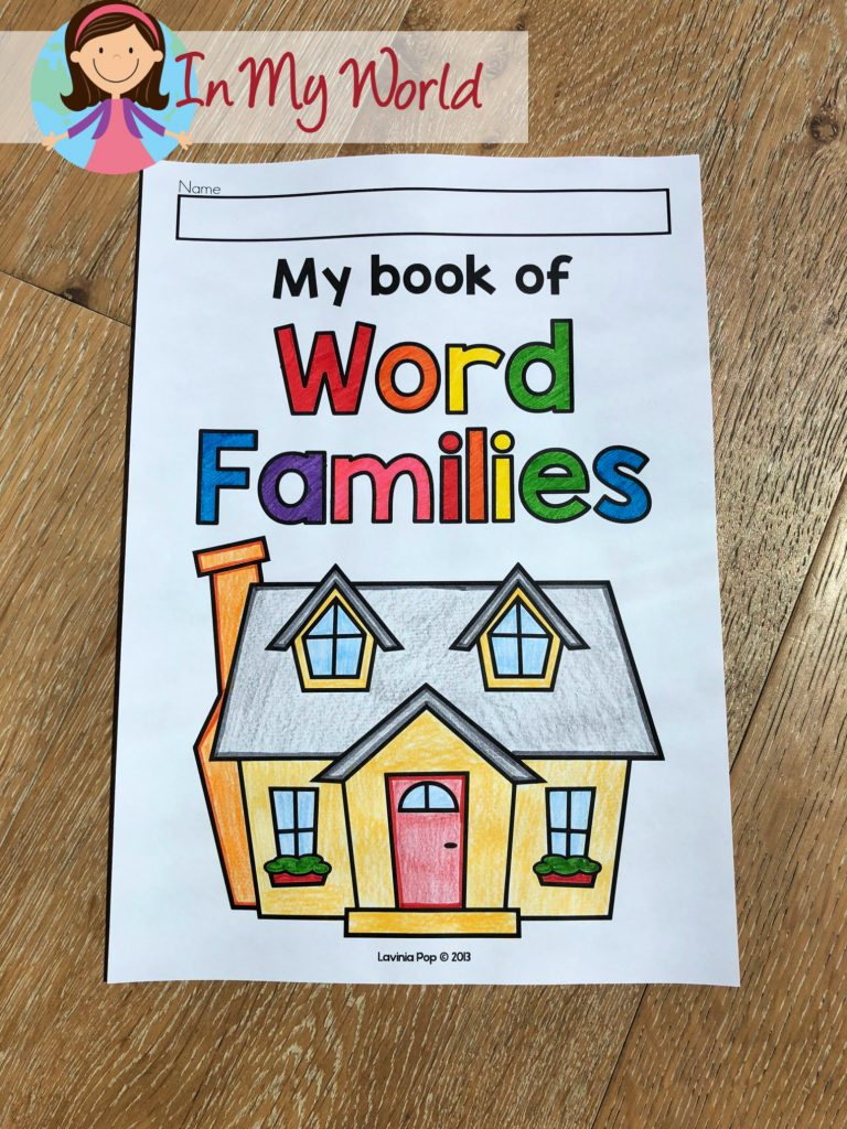 Sight Words And Word Families Week 3 In My World